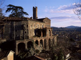 The 16th Century Castle, Castello Villadora, Valle Di Susa, Piemonte, Italy Photographic Print by Duncan Maxwell