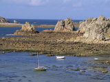 North Coast, Brittany, France Photographic Print by J Lightfoot