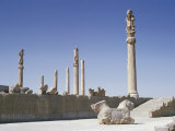 The Apadana (King's Audience Hall), Persepolis, Unesco World Heritage Site, Iran, Middle East Photographic Print by Jennifer Fry