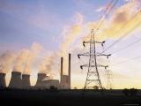 Ferrybridge Power Station, North Yorkshire, England, United Kingdom Photographic Print by Roy Rainford
