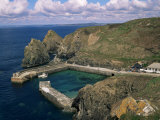 Mullion Cove, Cornwall, England, United Kingdom Photographic Print by Roy Rainford
