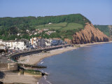 Sidmouth, Devon, England, United Kingdom Photographic Print by John Miller