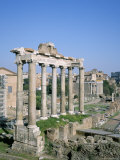 The Forum, Unesco World Heritage Site, Rome, Lazio, Italy Photographic Print by Roy Rainford