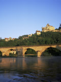Castelnaud Bridge and Chateau, Dordogne, Aquitaine, France Photographic Print by Roy Rainford