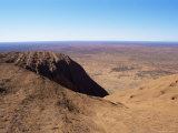 View from Ayers Rock (Uluru), Uluru-Kata Tjuta National Park, Unesco World Heritage Site, Australia Photographic Print by Jennifer Fry