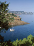 Coastline, Esterel, Cote d'Azur, Provence, Mediterranean, France Photographic Print by John Miller