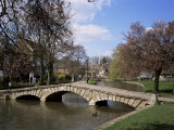 Bourton-On-The-Water, Gloucestershire, the Cotswolds, England, United Kingdom Photographic Print by Roy Rainford