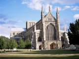 Winchester Cathedral, Winchester, Hampshire, England, United Kingdom Photographic Print by Roy Rainford