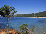 Palombaggia Beach, Porto Vecchio, Corsica, France, Mediterranean Photographic Print by John Miller