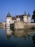 Chateau of Sully-Sur-Loire, Unesco World Heritage Site, Loiret, Loire Valley, Centre, France Photographic Print by Roy Rainford