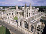 All Souls College, Oxford, Oxfordshire, England, United Kingdom Photographic Print by Roy Rainford