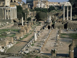 Roman Forum, Rome, Lazio, Italy Photographic Print by Roy Rainford