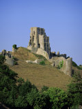 The Ruins of Corfe Castle, Dorset, England, UK Photographic Print by John Miller