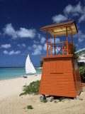 Mullins Beach, Barbados, West Indies, Caribbean, Central America Photographic Print by John Miller