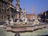 Piazza Navona, Rome, Lazio, Italy Photographic Print by Roy Rainford