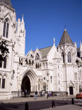 Royal Courts of Justice, Strand, London, England, United Kingdom Photographic Print by Roy Rainford