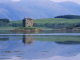 Castle Stalker, Port Appin, Strathclyde, Scotland, United Kingdom Photographic Print by Roy Rainford