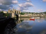 Conwy Castle, Unesco World Heritage Site, Gwynedd, Wales, United Kingdom Photographic Print by Roy Rainford
