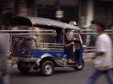 Tuk Tuk Taxi, Bangkok, Thailand, Southeast Asia Photographic Print by John Miller