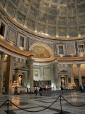 Interior of the Pantheon, Rome, Lazio, Italy Photographic Print by Roy Rainford