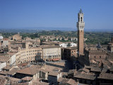 Siena, Unesco World Heritage Site, Tuscany, Italy Photographic Print by Roy Rainford
