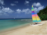 St. James Beach, Barbados, West Indies, Caribbean, Central America Photographic Print by John Miller