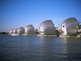 Thames Barrier, Woolwich, London, England, United Kingdom, Photographic Print