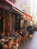 Cafe, Aix-En-Provence, Bouches-Du-Rhone, Provence, France Photographic Print by John Miller