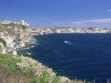 Bonifacio, Corsica, France, Mediterranean Photographic Print by John Miller
