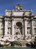 Trevi Fountain, Rome, Lazio, Italy Photographic Print by John Miller