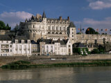 Chateau at Amboise, Unesco World Heritage Site, Indre-Et-Loire, Loire Valley, Centre, France Photographic Print by Roy Rainford
