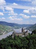Stahleck Castle, Bacharach, Rhineland, Germany Photographic Print by Roy Rainford