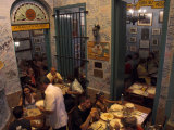 La Bodeguita Del Medio Restaurant, with Signed Walls and People Eating, Habana Vieja, Cuba Photographic Print by Eitan Simanor