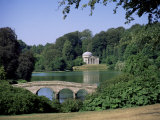 Stourhead, Wiltshire, England, United Kingdom Photographic Print by John Miller