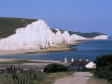 The Seven Sisters, East Sussex, England, United Kingdom Photographic Print by John Miller