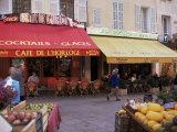 Cafe, Aix-En-Provence, Bouches-Du-Rhone, Provence, France Photographic Print by John Miller
