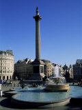 Trafalgar Square, London, England, United Kingdom Photographic Print by Roy Rainford