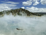 Excelsior Geyser Crater, Yellowstone National Park, Unesco World Heritage Site, USA Photographic Print by Roy Rainford