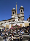 Spanish Steps, Rome, Lazio, Italy Photographic Print by John Miller