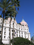 Negresco Hotel, Nice, Alpes Maritimes, Cote d'Azur, French Riviera, Provence, France Photographic Print by John Miller