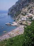 Positano, Costiera Amalfitana, Unesco World Heritage Site, Campania, Italy Photographic Print by Roy Rainford