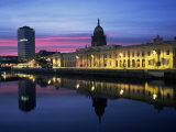 The Custom House, Dublin, Co. Dublin, Eire (Republic of Ireland) Photographic Print by Roy Rainford