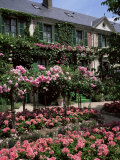 House and Garden of Claude Monet, Giverny, Haute-Normandie (Normandy), France Fotografisk trykk av Roy Rainford