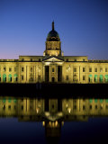 Custom House and River Liffey, Dublin, Eire (Republic of Ireland) Photographic Print by Roy Rainford