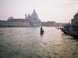 Santa Maria Della Salute, Grand Canal, Venice, Unesco World Heritage Site, Veneto, Italy Photographic Print by Roy Rainford