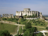Chateau Gaillard, Les Andelys, Haute-Normandie (Normandy), France Photographic Print by Roy Rainford