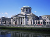 Four Courts, Dublin, County Dublin, Eire (Republic of Ireland) Photographic Print by Roy Rainford