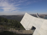 Exit Towards the Jerusalem Hills, New Wing of the Holocaust Museum, Yad Vashem, Jerusalem Photographic Print by Eitan Simanor