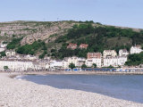 Beach and Great Orme, Llandudno, Conwy, Wales, United Kingdom Photographic Print by Roy Rainford
