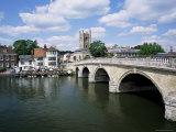 Henley-On-Thames, Oxfordshire, England, United Kingdom Fotografisk tryk af Roy Rainford